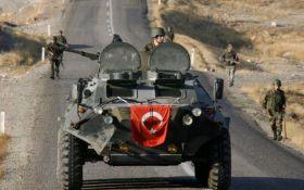 Турецкие военные массово уничтожают боевиков в Сирии