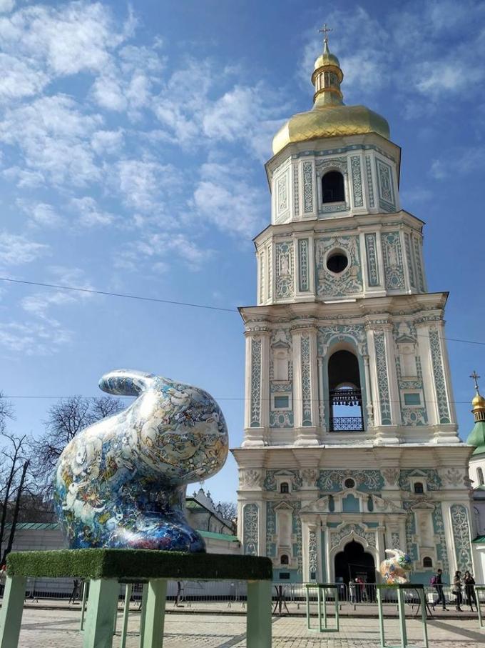 В Киеве открылась самая масштабная выставка к Пасхе-2018: опубликованы яркие фото (1)