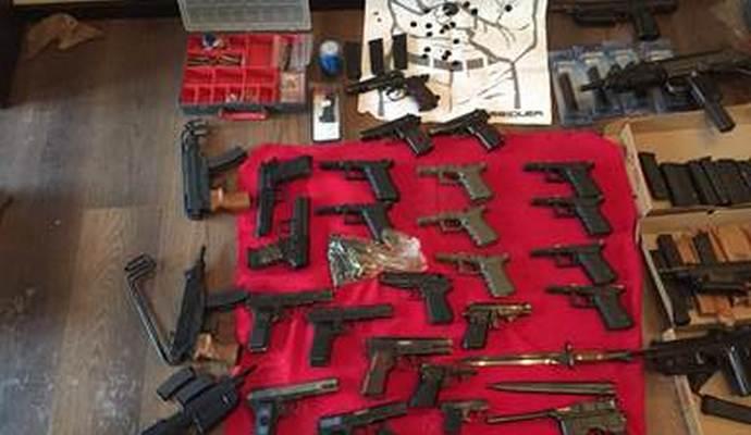 СБУ обнаружила в Киеве канал ввоза европейского оружия