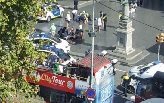 В Барселоні скоєно теракт, є загиблі: з'явилися фото та відео