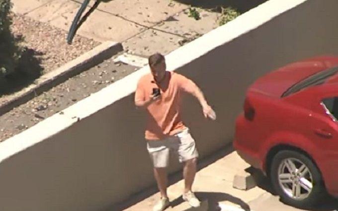 Американець виконав танець на парковці, щоб потрапити в телетрансляцію: опубліковано відео