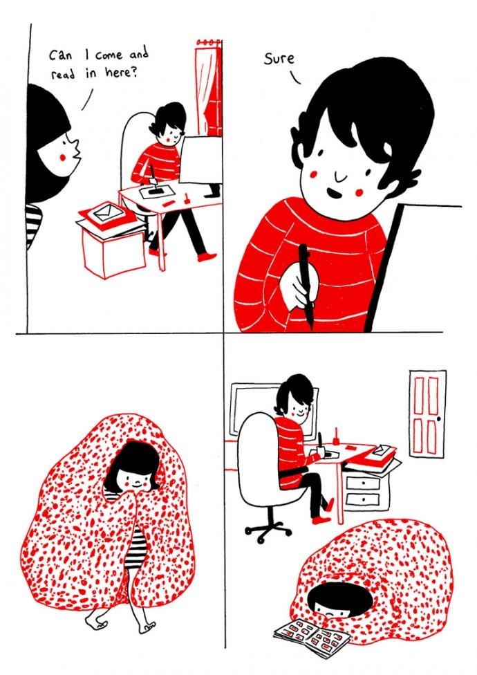 Как прекрасно быть вместе: веселые комиксы о семейной жизни (1)