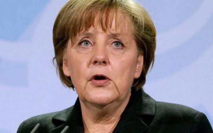 Меркель упомянула Украину среди главных целей своего правительства