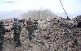 Землетрясение в Китае унесло жизни восьми человек: опубликовано фото
