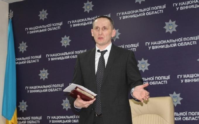 Деканоидзе решила судьбу скандального главы полиции Винницкой области
