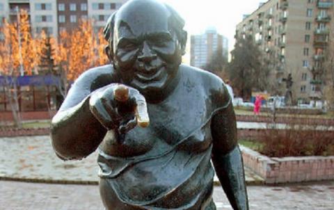 У Москві вкрали пам'ятник Леонову в ролі Доцента