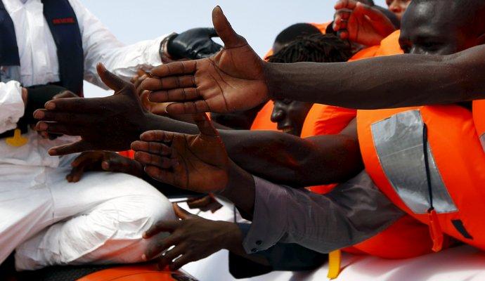 Через Середземне море прибули майже 20 тисяч мігрантів