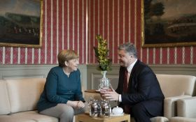 Переговори Порошенка і Меркель: стали відомі перші підсумки