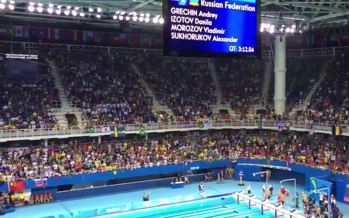 Російських спортсменів знову освистали на Олімпіаді: опубліковано відео