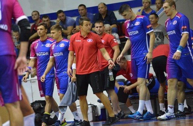 «Чеховские медведи» проиграли украинскому «Мотору» вматче гандбольной Лиги чемпионов