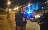 В Киеве поймали пьяного борца на Mercedes: появились фото и видео