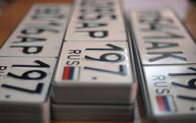 В Крыму вводят штрафы на авто с украинскими номерами