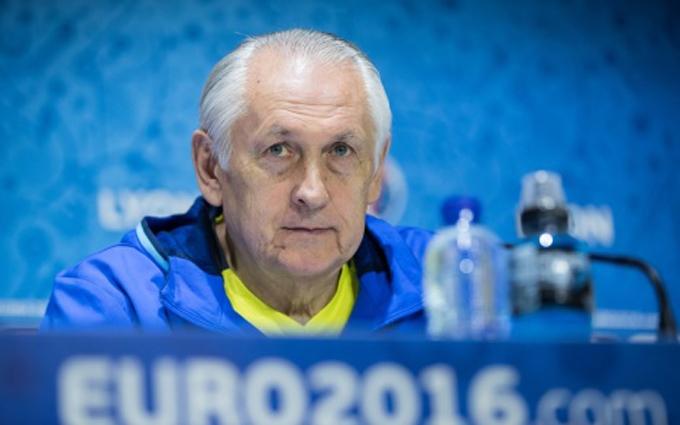 Євро-2016: Фоменко дав коментар щодо прощання зі збірною України
