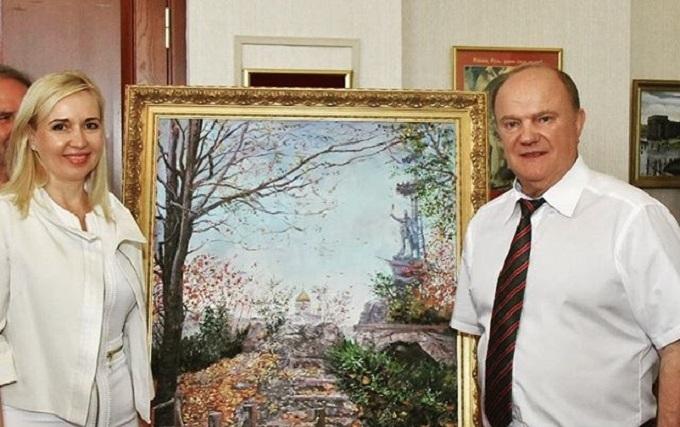 У Держдуму Росії йде донецька художниця, яка малювала Януковича та Ахметова