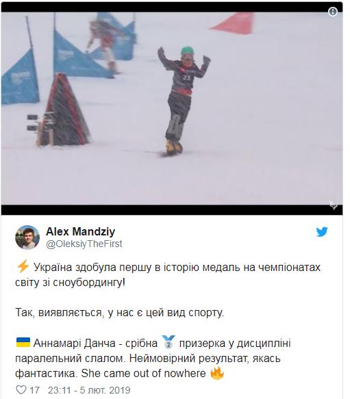 Сенсация: Украина впервые в истории завоевала медаль на чемпионате мира по сноубордингу (1)