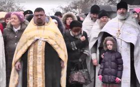 УПЦ Московського патріархату в Криму помолилася за військових Путіна