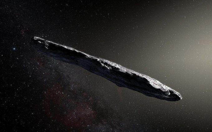 В Солнечной системе появился межзвездный астероид