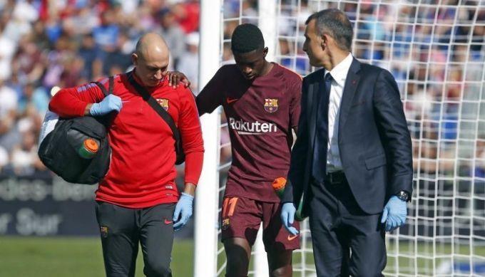 Дембеле вернулся в Барселону после операции в Хельсинки