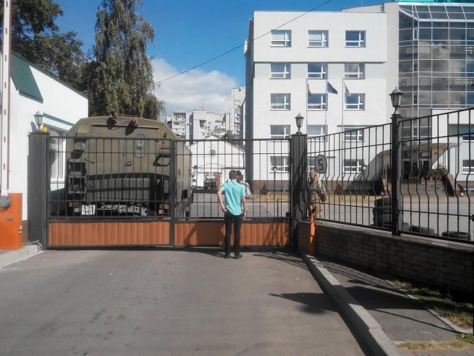 У Черкасах невідомі захопили обленерго: опубліковані фото (1)