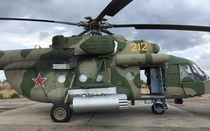 Збитий у Сирії російський вертоліт: в мережі розкрили важливі деталі