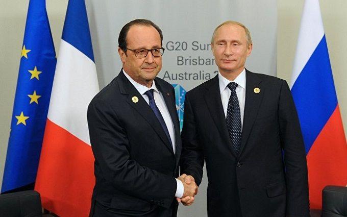 Франція оголосила, в якому випадку зійде до розмови з Путіним