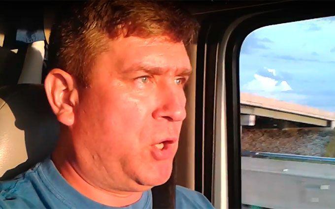 """У США далекобійник заспівав про """"українських диверсантів"""": опубліковано відео"""