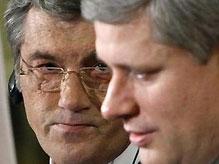 Ющенко верит, что парламент Канады признает Голодомор геноцидом