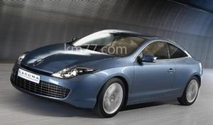Renault показала Laguna Coupe
