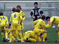 Евро-2008: Украинские юниоры громят турок