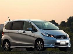 В Японии состоялась премьера нового минивэна Honda