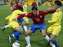 Участники Евро-2008 одержали уверенные победы в контрольных матчах