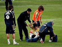 Евро-2008: Испанцы несут потери