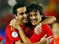 Сборная Испании выиграла последний матч перед Евро-2008
