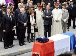 В Париже прошли похороны Ива Сен-Лорана