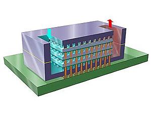 IBM разработала процессор с водяным охлаждением