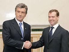 Лавров: Медведев напомнил Ющенко о возрастании цены на газ