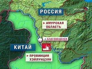 Возле российско-китайской границы произошла масштабная утечка химикатов