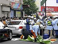 Якудза зарезал шесть человек в центре Токио (обновлено)