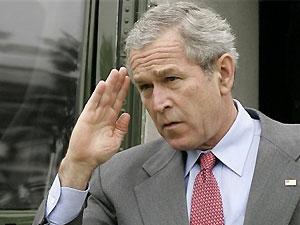 Джордж Буш едет прощаться с Европой
