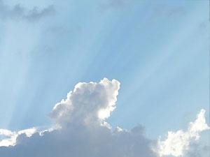 Во вторник погода будет жаркой, но облачной