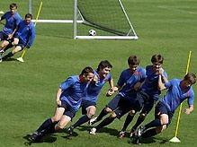 Тысячи болельщиков и ВИА Гра поддержат сборную России на Евро-2008