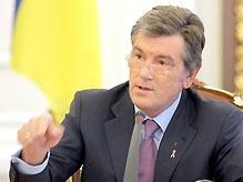 Ющенко: виновные в аварии на шахте должны быть наказаны