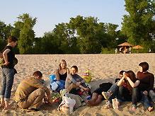 Киев открывает пять пляжей