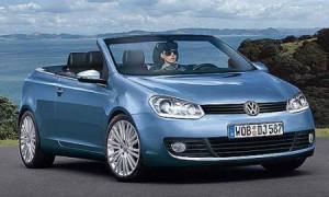 Кабриолет и родстер VW Golf появятся в 2010 году