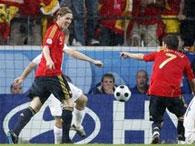 Евро-2008: Испания ставит на колени Россию