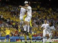 Евро-2008:Греция - Швеция. Чемпионы Европы терпят поражение