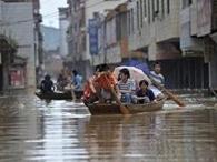 Наводнения в Китае унесли жизни 169 человек