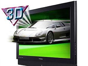 Поступил в продажу первый 3D-телевизор