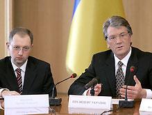 Ющенко пригрозил коалиции новыми путями выхода из кризиса
