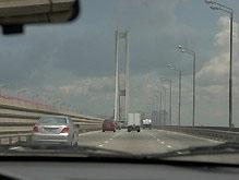 Южный мост в Киеве временно закроют
